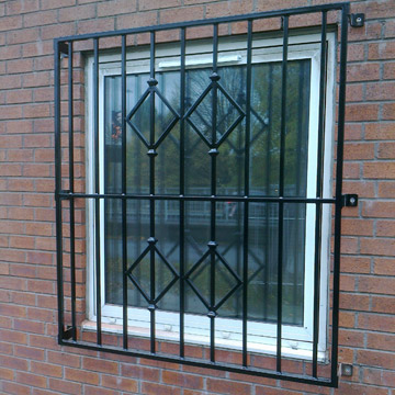 Decorative window bars removeable security window bars and for Window bars design