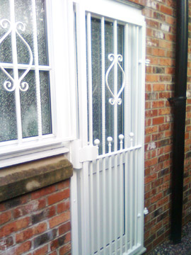 Decorative Window Bars Removeable Security Window Bars And