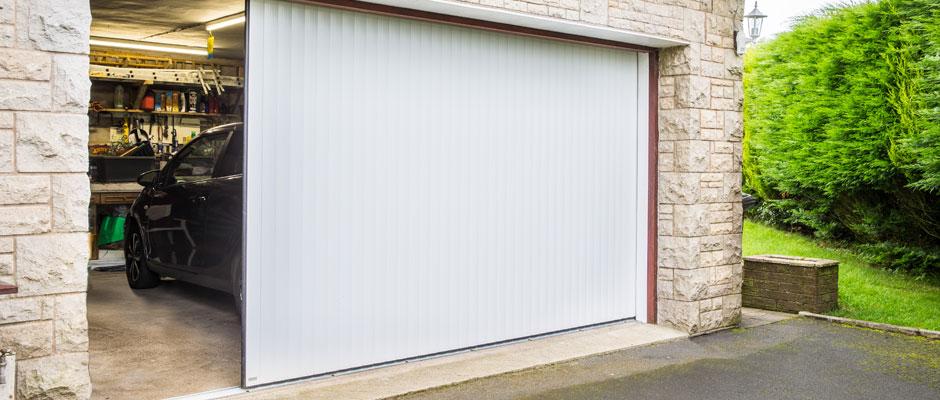 Vertico Garage Roller Doors Automatic Side Opening Roller Garage