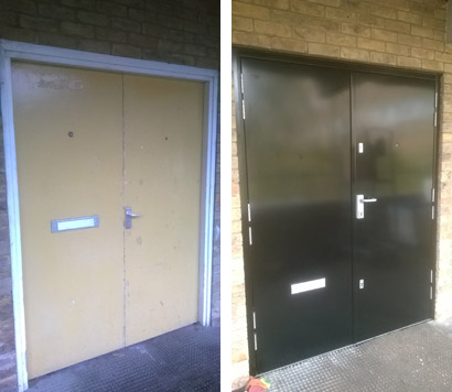 replacement security doors