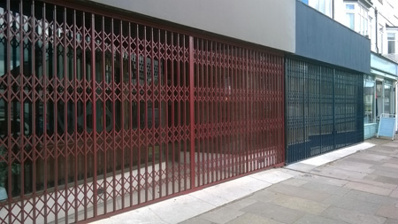shop security grilles