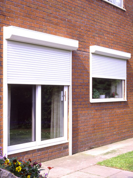 Home Security Shutters Domestic Roller Shutters External