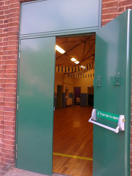 Fire Exit Doors Manchester Steel Fire Doors Supplied And